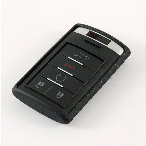 TPU Car Key Case For CADILLAC A Design - BLACK