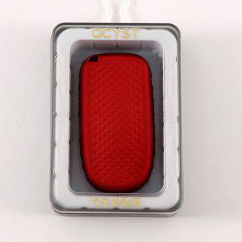 TPU Car Key Case For Jeep Compass /Renegade - RED WINE