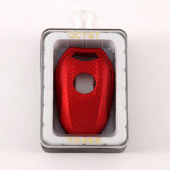 TPU Car Key Case For PEUGEOT 4008/5008/508 - RED WINE