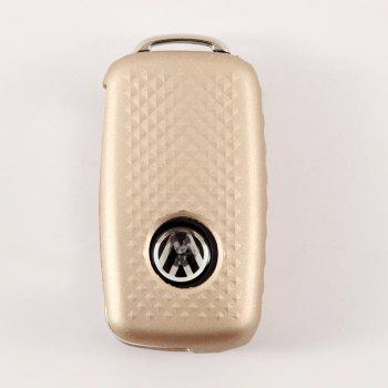 TPU Car Key Case For Volkswagen A Design - BLONDE
