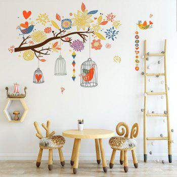 Sticker mural en PVC coloré - multicolor