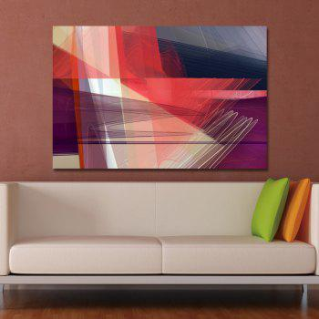 DYC Geometric Technology Line Print Art - multicolor