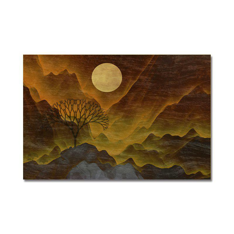 DYC Sunrise Scenery Print Art - multicolor
