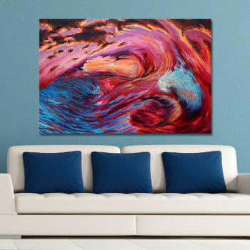 DYC Abstract Color Tornado Print Art - multicolor
