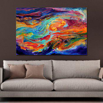 DYC Color Abstract Painting Print Art - multicolor
