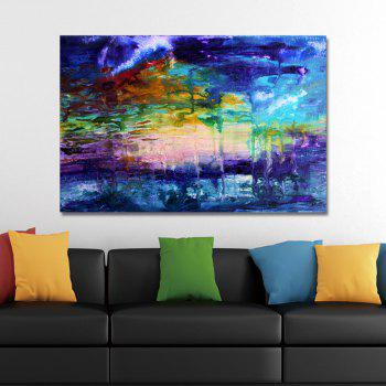 DYC Color Abstract Print Art - multicolor