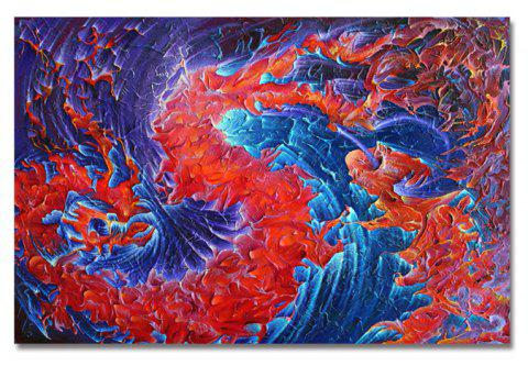 DYC Abstract Painting of Individuality Print Art - multicolor