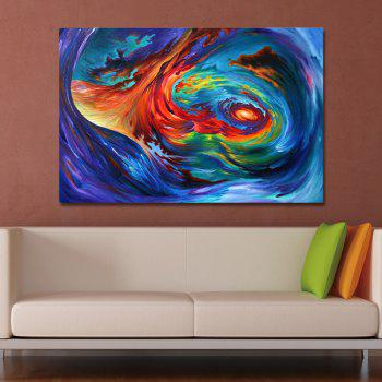 DYC Tornado Abstraction Print Art - multicolor