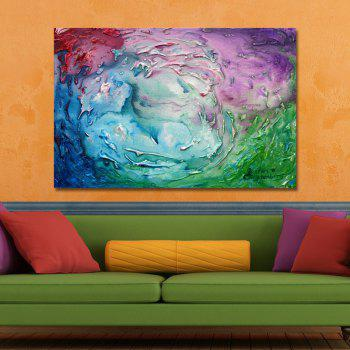 DYC Beautiful Color Abstract Paintings Print Art - multicolor