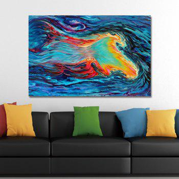 DYC Fashion Abstract Painting Print Art - multicolor
