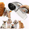Portable Pet Aspirateur Hanger Chien Chat Toilettage Aspirateur Clean Massage Fur - multicolor