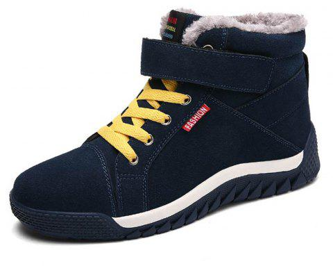 Men's Casual Comfortable Snow Boots Fashion Wild - DARK GREEN EU 45
