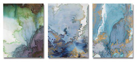DYC 3PCS Abstract Texture Print Art - multicolor