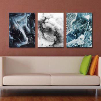 DYC 3PCS Abstract Painting Print Art - multicolor