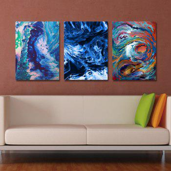 DYC 3PCS Fashion Abstract Print Art - multicolor