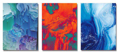 DYC 3PCS Creativity Abstract Print Art - multicolor