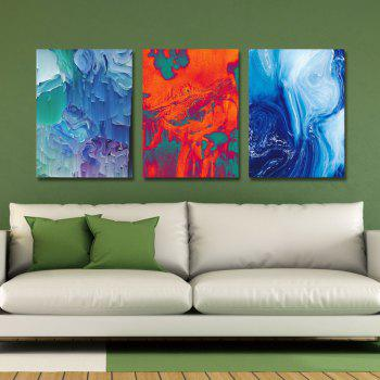 DYC 3PCS Creativity Abstract Art d'impression - multicolor