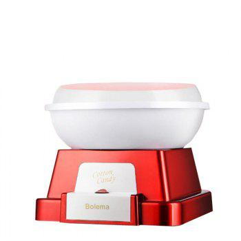 220V Home Mini Electric Automatic Sweet Cotton Candy - RED