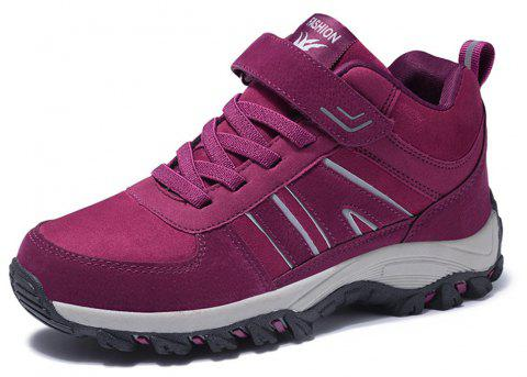 Women Fashion Casual Anti-Slip Running Sports Shoes - DARK CARNATION PINK EU 40