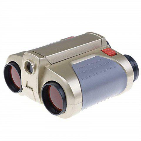 4X30 Night Scope Binoculars Telescope Fun Cool Toy Gift - CHAMPAGNE GOLD