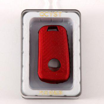 TPU Car Key Case For Buick B Design - RED