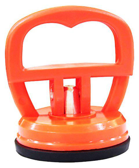 Glass Sucker Single Claw Vacuum Hand Lift - PUMPKIN ORANGE 1PC