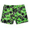 658 Tight Fast Drying Children's Swimming Pants - EMERALD GREEN XL
