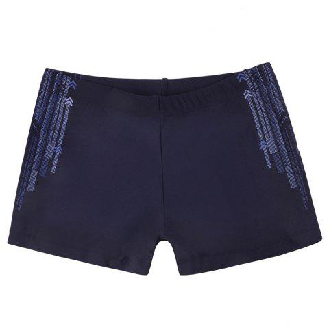 1008 Tight Fast Drying Children's Swimming Pants - DEEP BLUE M