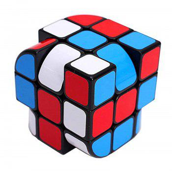 Third-order Trihedral Bending Unequal Order Magic Cube Children Educational Toy - multicolor