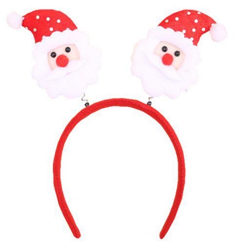 Christmas Ornament with Silver Headband - multicolor A 23*3*24CM