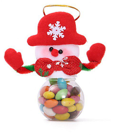 Candy Jar for Christmas Decoration - multicolor B 5*5*12CM