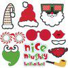 28-PIECE Christmas Party Decor Set - multicolor 19*20.5*0.5CM