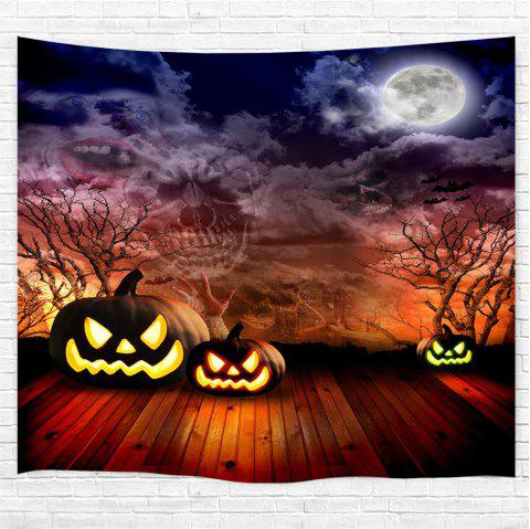 The Sky of Terror 3D Printing Home Wall Hanging Tapestry for Decoration - multicolor W200CMXL180CM