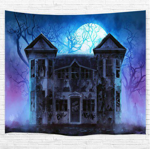 Haunted Mansion 3D Printing Home Wall Hanging Tapestry for Decoration - multicolor W230CMXL180CM