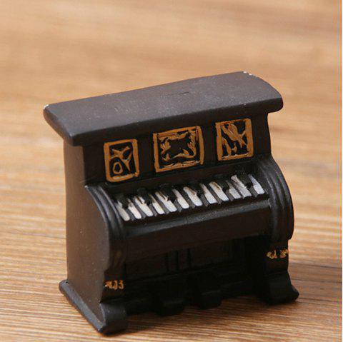Retro Creative Living Room Mini Resin Handicraft Decoration - BLACK
