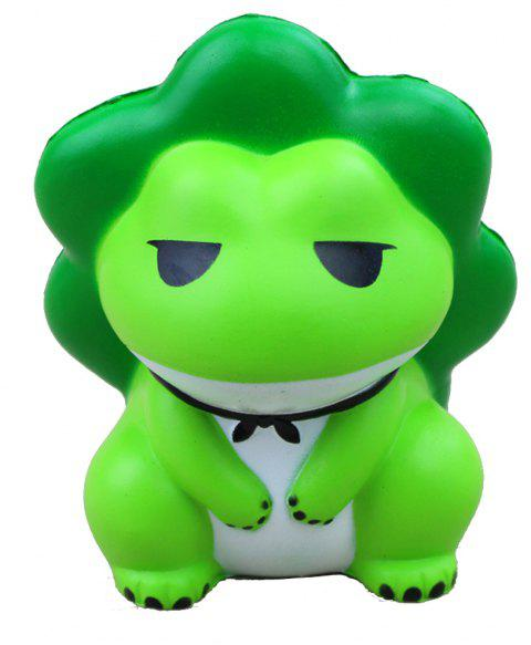 Jumbo Squishy Frog Soulager Stress Toy - Vert