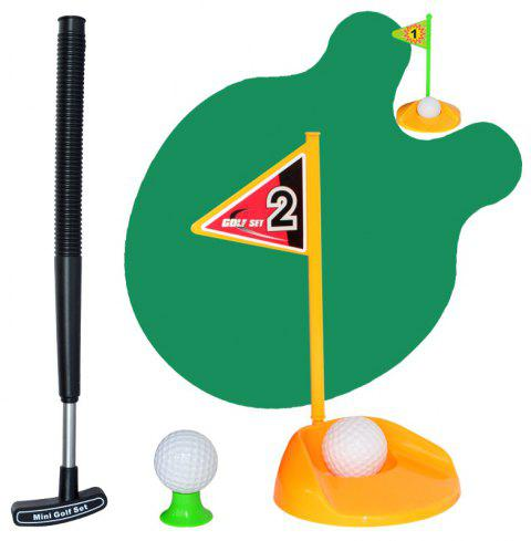 Putter Practice in Bathroom Golf Training Accessory For Men Women and Kids - multicolor