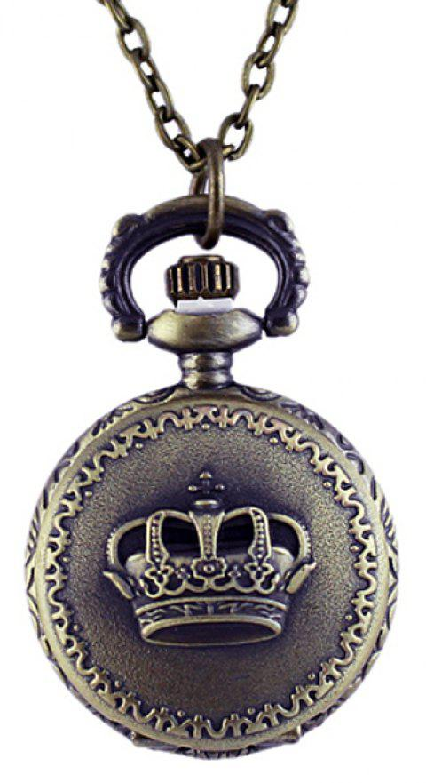 Cheapest Vintage Aulic Elegant Pocket Watch with Long Chain - multicolor