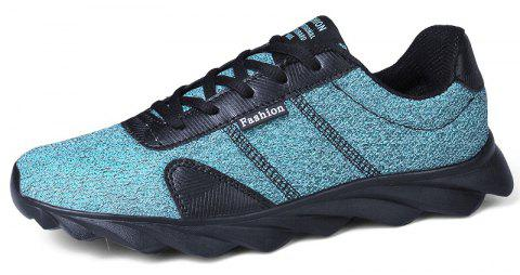 Blade Explosion Bottom Mesh Sneakers Casual Shoes - BLUE HOSTA EU 38