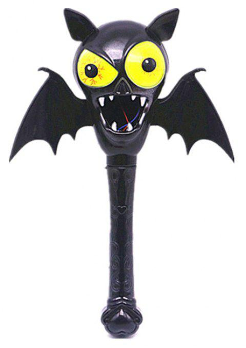 Halloween Children Magic Wand Pumpkin Ghost Head Witch Horror Funny Props - multicolor D