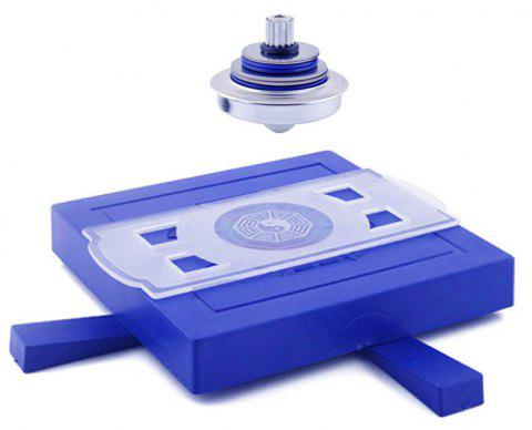 UFO Levitation Spinning Gyroscope Suspension Science Magnetic Toy - BLUE