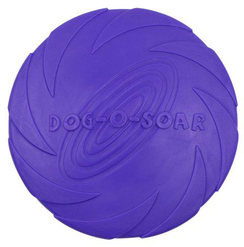 Training Dog Supplies Bite-Resistant Floating Water TPR Rubber  Toy - LOVELY PURPLE L