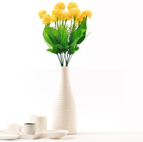 Hydrangea Home Decoration Artificial Flowers - YELLOW
