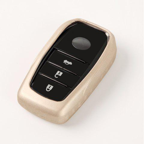 Protective TPU Car Key Case B Design For TOYOTA - BLONDE
