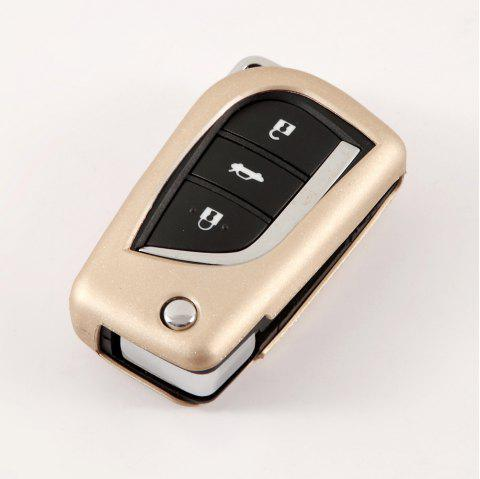 Protective TPU Car Key Case C Style For TOYOTA - BLONDE