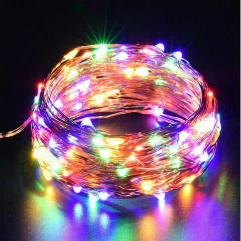 ZDM 500CM 3W 50LEDs Waterproof Outdoor String Light for Festival Christmas Party Decoration with RF 13Key Controller - multicolor