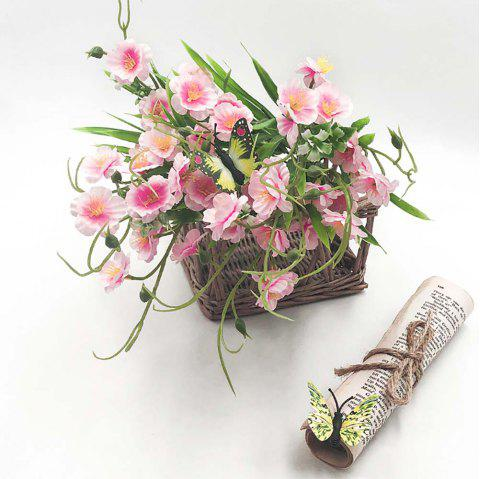 Pink Orchid Fashion Home Decoration Artificial Flower Bouquet - PINK