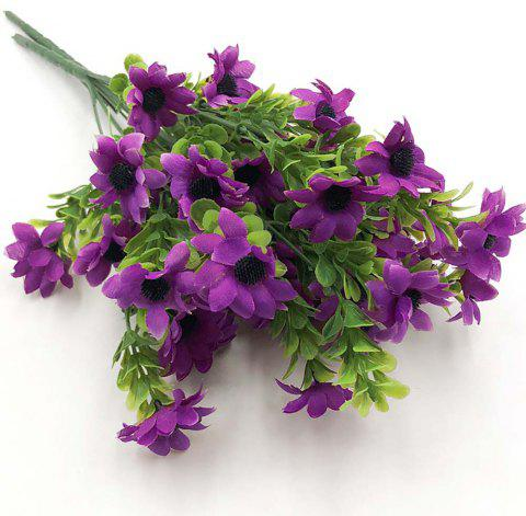 Purple Chrysanthemum Home Decoration Branch of Artificial Flowers - PURPLE