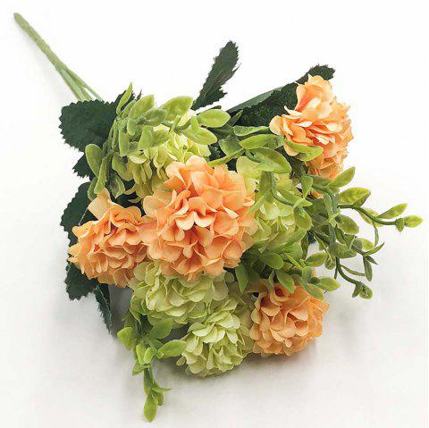 Chrysanthemum Modern Style Home Decoration Branch of Artificial Flowers - multicolor