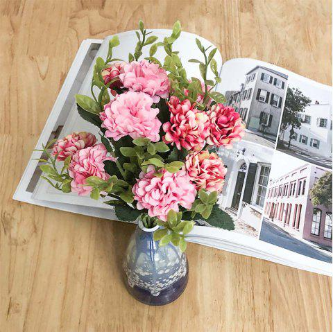 Pink Chrysanthemum Modern Style Home Decoration Branch of Artificial Flowers - ROSE
